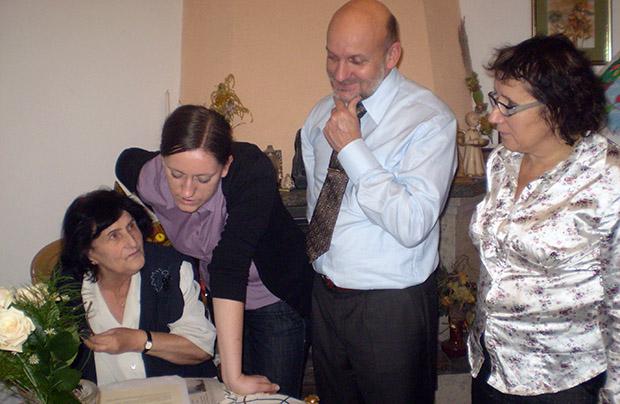 Odnaleziona rodzina – upominek z Ukrainy