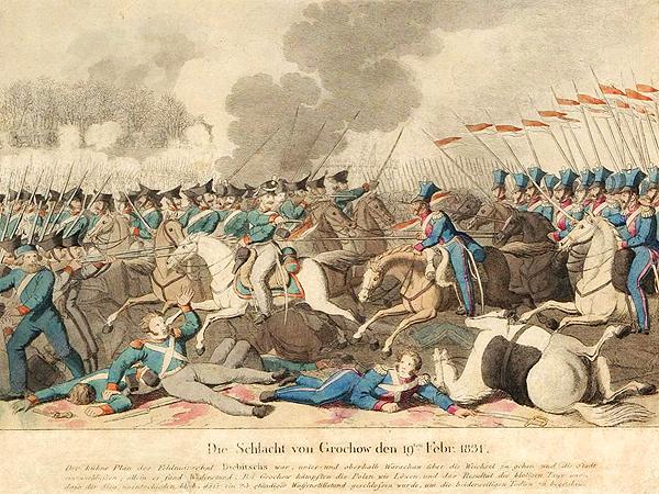 Bitwa o Olszynkę Grochowską – najbardziej krwawa bitwa powstania listopadowego, 25 lutego 1831 (Fot. wojsko.fotopolska.eu)