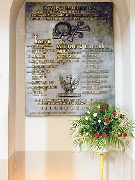 Hołd ofiarom NKWD