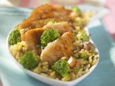Kurczak z ryżem