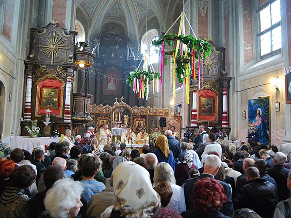 Grekokatolicy blokują kościół w Komarnie