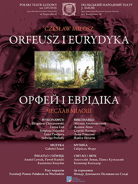 Orfeusz i Eurydyka w Teatrze Polskim