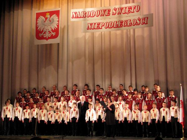 Dzień Niepodległości Polski w Operze Lwowskiej, 11.11.2011 r. (Fot. Julia Łokietko)