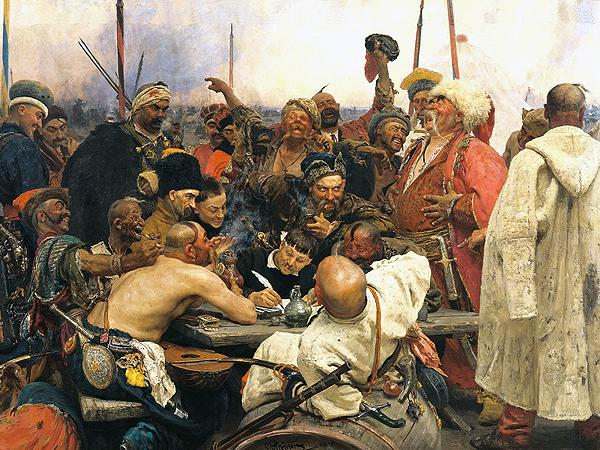 Kozacy piszą list do sułtana (Fot. pl.wikipedia.org)
