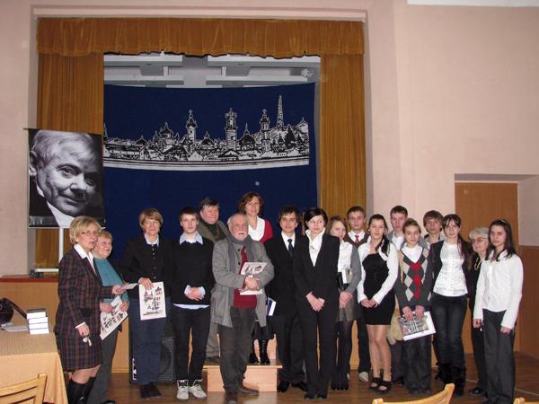 III Konkurs Recytatorski poezji Z. Herberta w szk Nr 10, Lwów 2011 r. (Fot. Julia Łokietko)