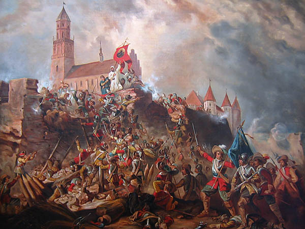 Obrona Jasnej Gory (Fot. pl.wikipedia.org)
