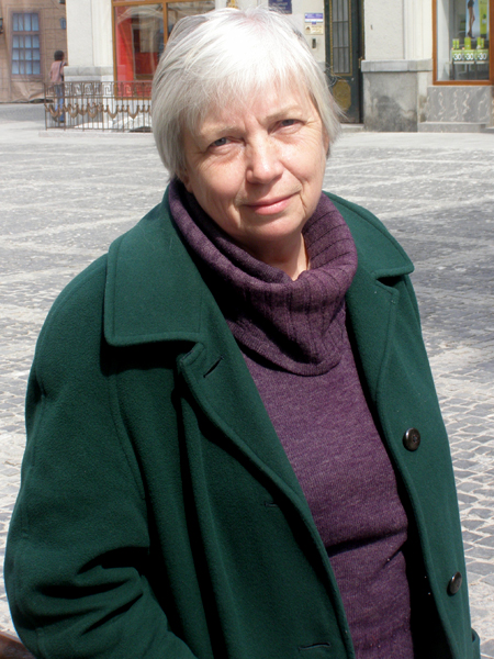 Konserwator Halina Skop (Fot. Jurij Smirnow)