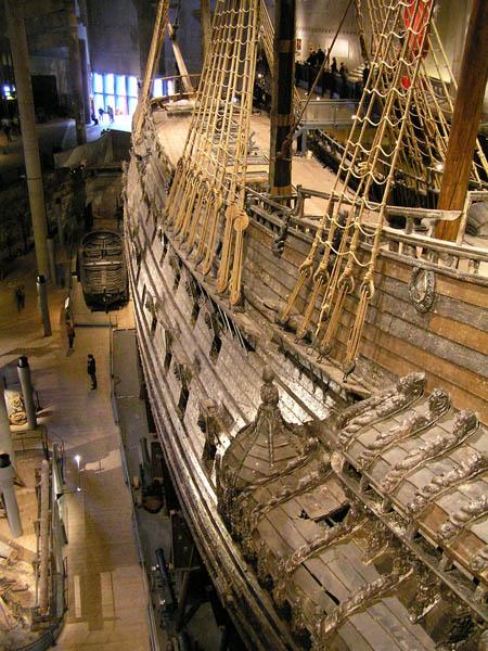 Zrekonstruowany królewski galeon szwedzki Vasa (Fot. pl.wikipedia.org)