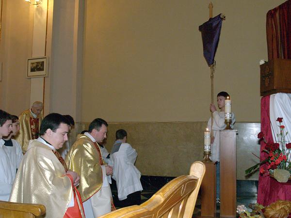 Wielki Czwartek w kościele Marii Magdaleny