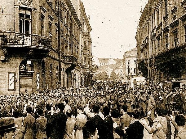 Wkroczenie Armii Czerwonej do Lwowa, 22 września 1939 r. (Fot. riowang.blogspot.com)