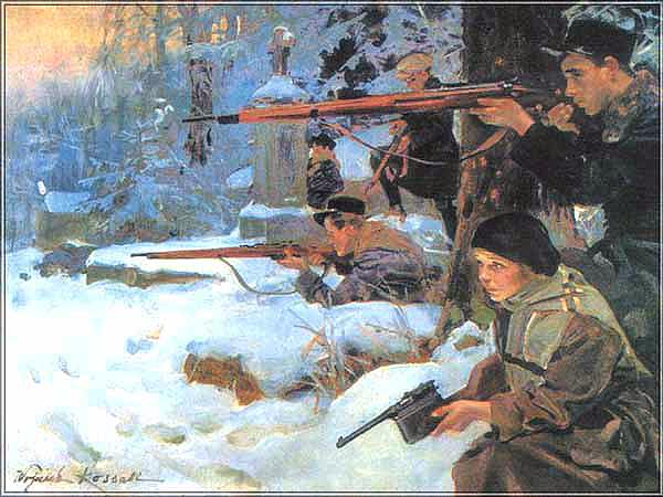 Walki o Lwów, 1918 (Fot. www.politechnikalwowska.com)