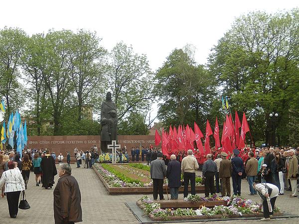Dzień Zwycięstwa w Iwano-Frankowsku