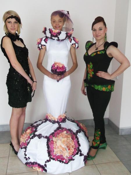 Olga Szypełyk, Kateryna Sobucka i Anna Diduch (Fot. Agnieszka Ratna)
