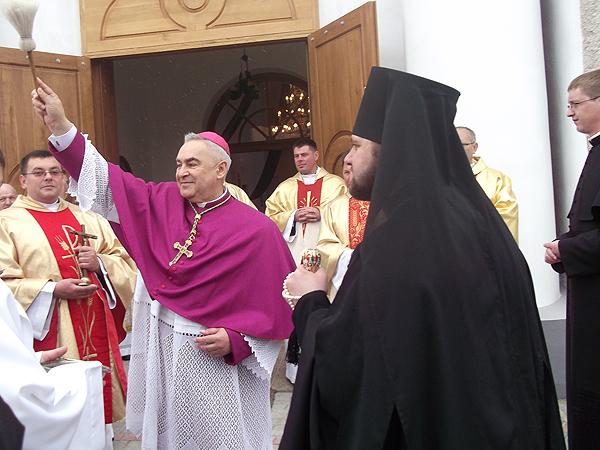 Święto kościoła w Dubnie