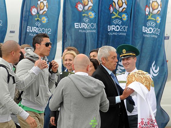 Ronaldo już we Lwowie