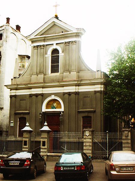 Kościół katolicki św. Piotra Apostoła (Fot. Zbigniew Żyromski)