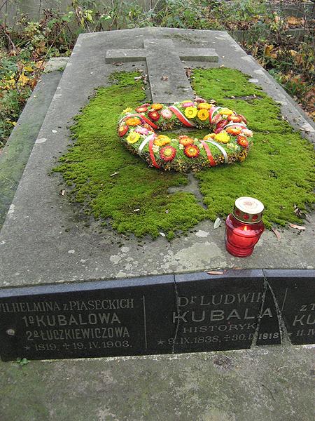 Ludwik Kubala został pochowany na Cmentarzu Łyczakowskim we Lwowie (Fot. Beata Kost)