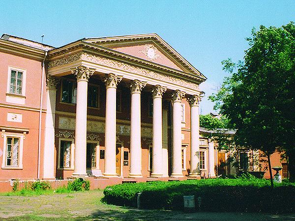 Pałac hrabiego Potockiego, lata 1805-1810