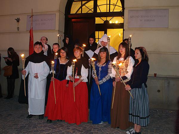 Noc Kultury w Lublinie z Euro 2012 w tle