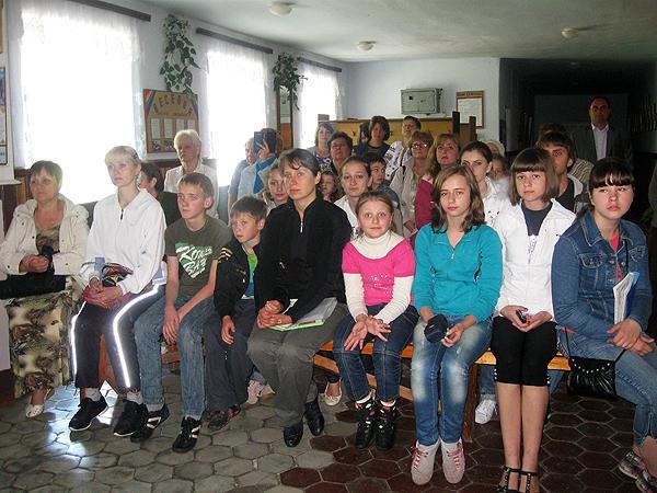 Werchiwka. Koncert w szkole (Fot. Walerij Istoszyn)
