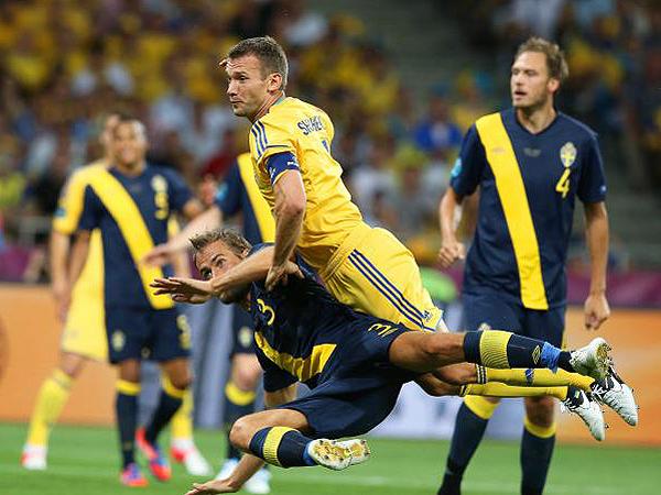 Ukraina – Szwecja 2:1!!!