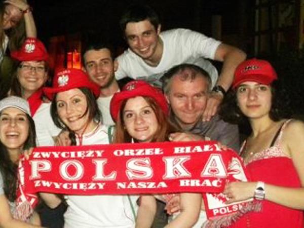 Cała Gruzja kibicowała Polsce