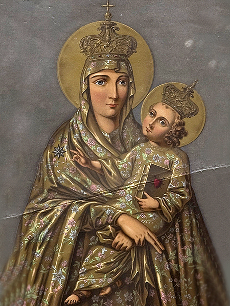 Matka Boska Berdyczowska (Fot. wilanow-palac.art.pl)