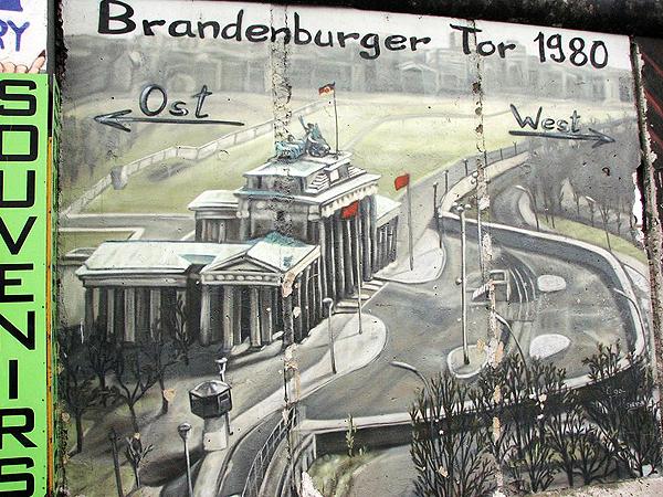 Mur Berliński (Fot. www.ichip.pw.edu.pl)