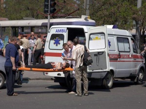 Wybuch w tramwaju w Dniepropietrowsku