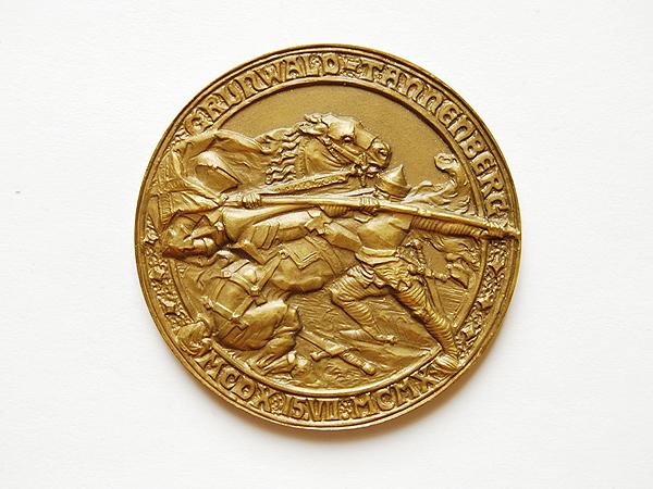 Medal z okazji 500-lecia bitwy pod Grunwaldem. 1910 (Fot. katalog muzeum)