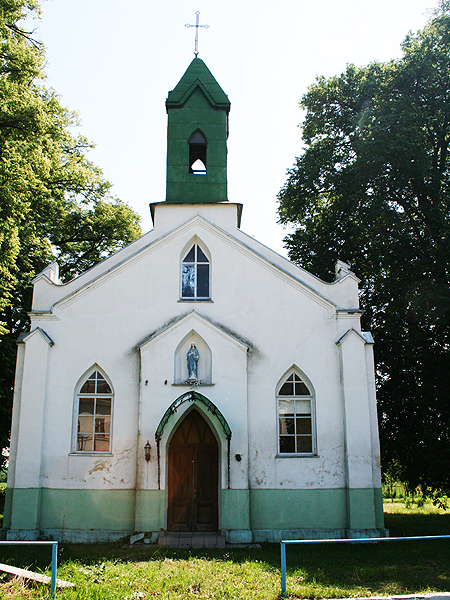 Dawny kościół (Fot. Sabina Różycka)