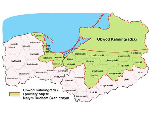 Z RP do obwodu Kaliningradzkiego bez wiz