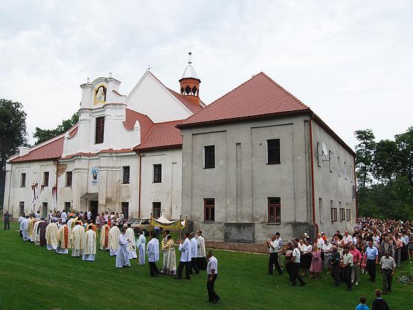 Wizerunek św. Anny wrócił do Sąsiadowic