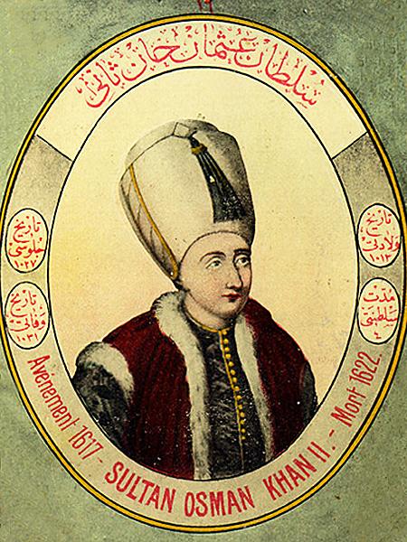Sułtan turecki Osman II (Fot. liveinternet.ru)