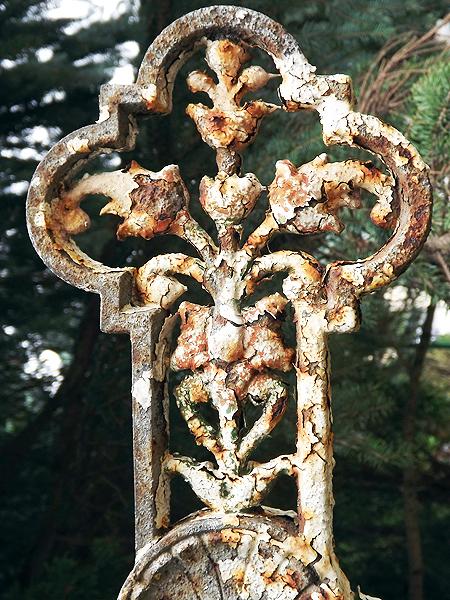 Nagrobek na mogile Jana Treteckiego (Fot. Dmytro Panair)
