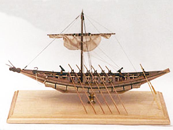Model kozackiej czajki (Fot. sailman.pl)