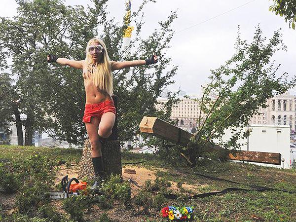 Free Riot! – kolejna akcja ruchu Femen