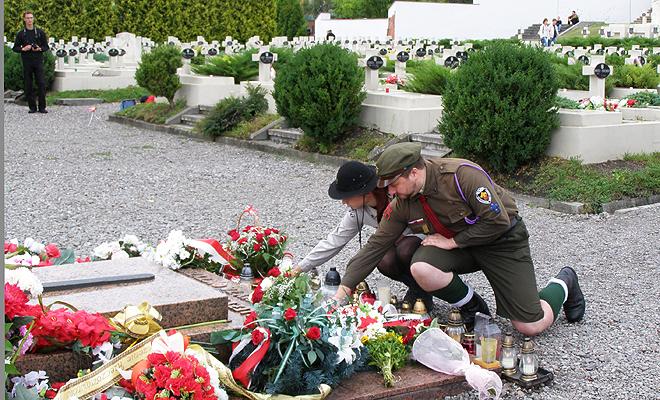15 sierpnia na Cmentarzu Orląt