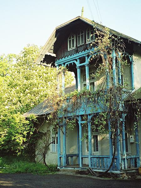 Kolory budynku były kiedyś inne (Fot. Marcin Romer)