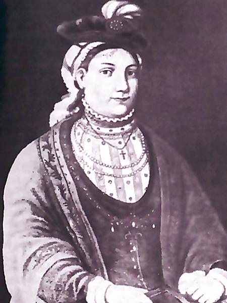 Portret Rainy Wiśniowieckiej, matki Jaremy (Fot. ua.wikipedia.org)