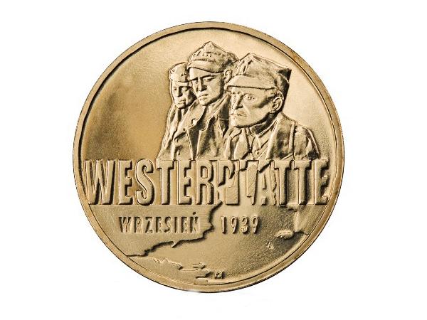 Wizerunek monety: Wrzesień 1939 r. - Westerplatte (Fot. enumi.pl)