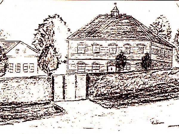 Szkoła i ochronka we wsi Święty Józef (Fot. Marcin Romer)