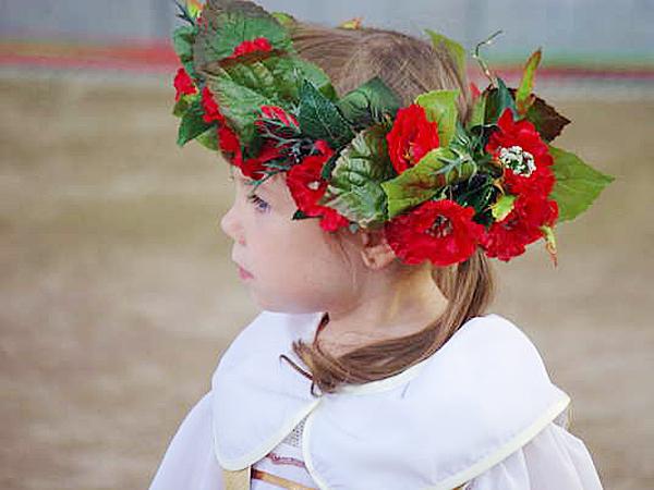 Malutka uczestniczka festiwalu (Fot. Ewa Dolińska-Baczewska)