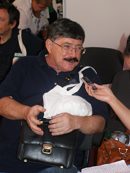 Borys Burda – ukraiński pisarz, dziennikarz, autor popularnych książek i kulinarnych programów telewizyjnych (Fot. Jurij Smirnow)