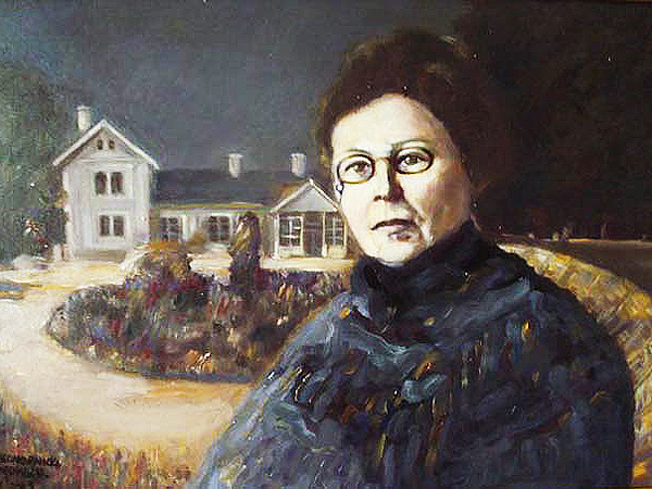Portret Marii Konopnickiej, Magdalena Niewiadomska (Fot. www.artmajeur.com)