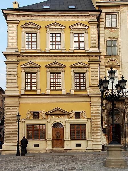 Kamienica Bandinellich, oddział Muzeum Historycznego Lwowa (Fot. ukrainbow-travel.com)
