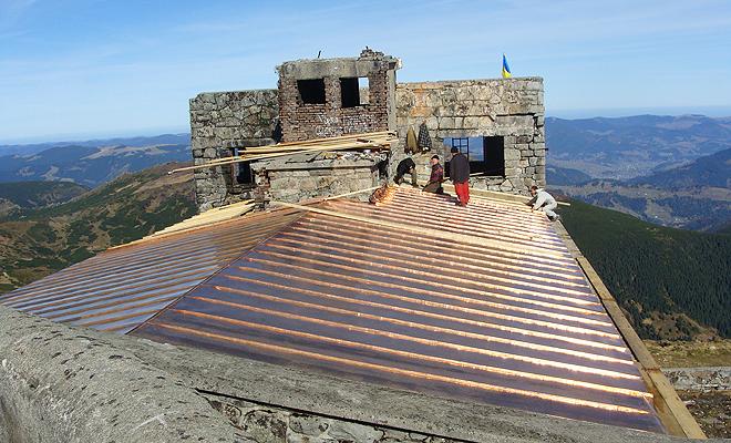 Obserwatorium na Popie Iwanie pod dachem!