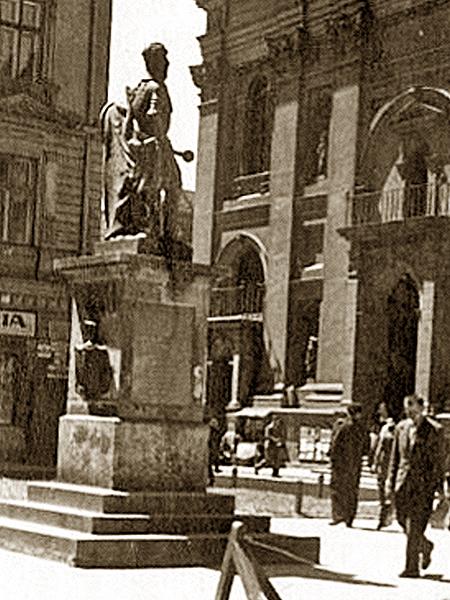Wędrujący lwowski pomnik