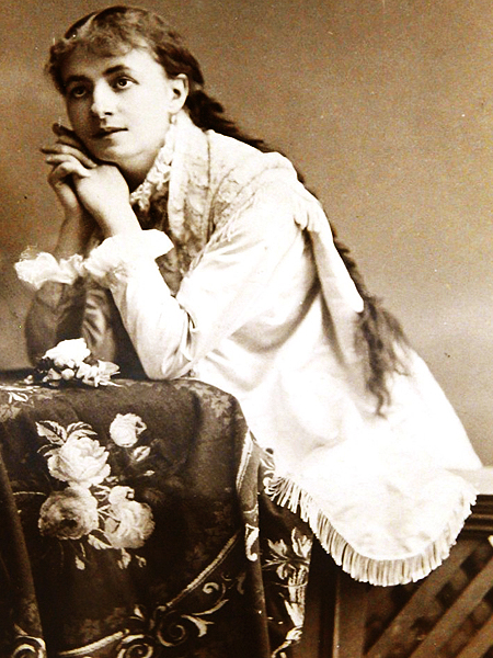 Helena Modrzejewska w roli szekspirowskiej Julii (Fot. plaszcz-zabojcy.blogspot.com)