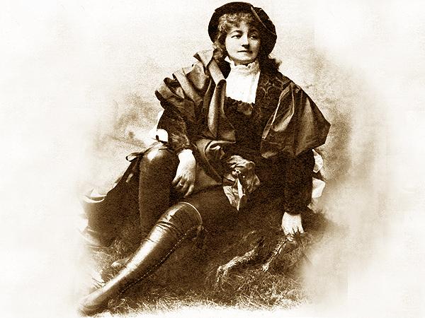 """Helena Modrzejewska jako Porcja w """"Kupcu Weneckim"""" W. Szekspira (Fot. pl.wikipedia.org)"""